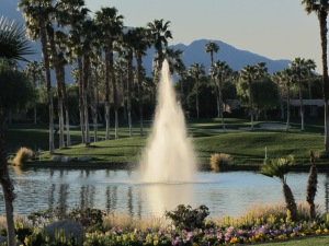 AquaMaster Fountain in one of our Palm Springs properties