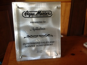 2012 Sales and Service Award